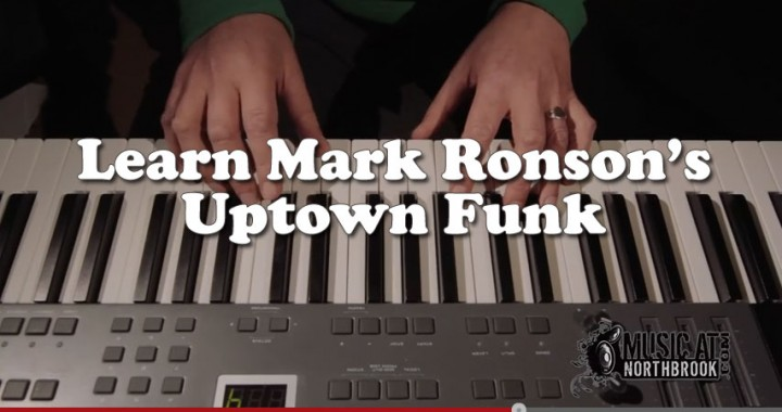 Learn Mark Ronson's Uptown Funk