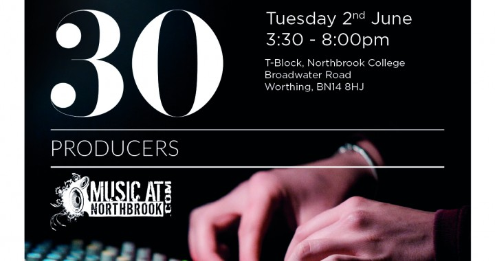 30 Rooms 30 Producers flyer