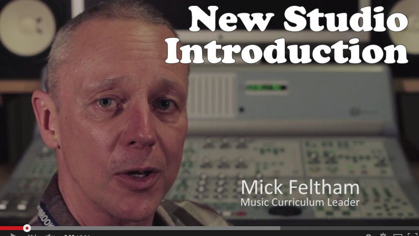 Video introduction of the new studios