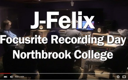 J-Felix Recording Day Flyer