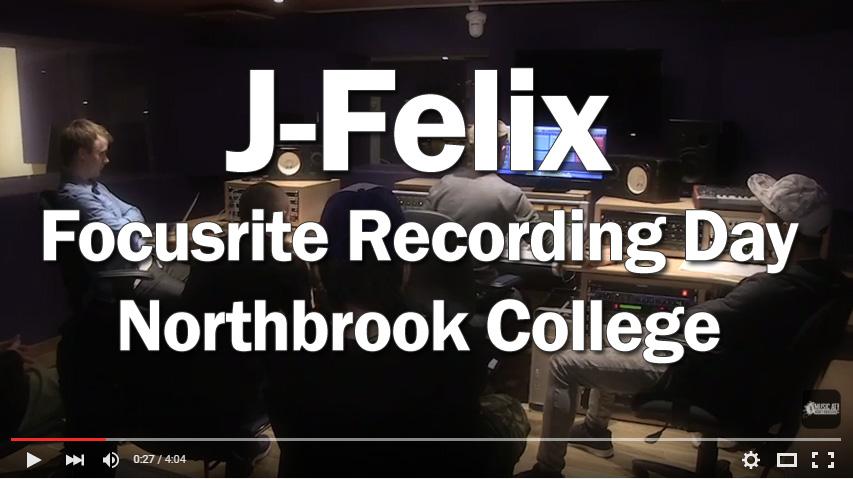 J-Felix Recording Day Flyer