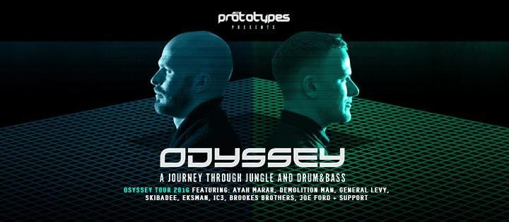 Prototypes Odyssey tour flyer