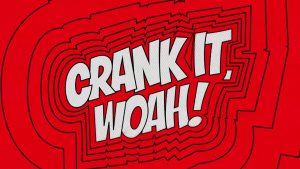 Cover from the Crank it woah! single